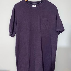 3 for $25 - Men's Denver Hayes Ultra Soft Garment Wash Purple T-Shirt XL Tall